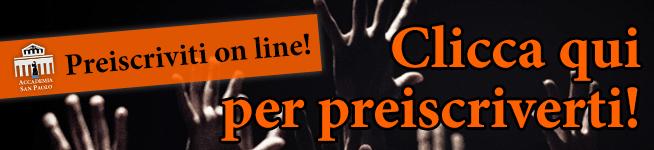 Preiscriviti online!